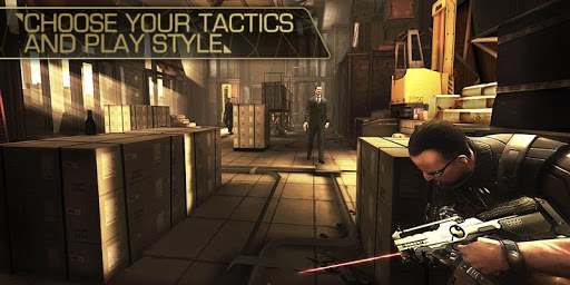Deus Ex: The Fall - screenshot
