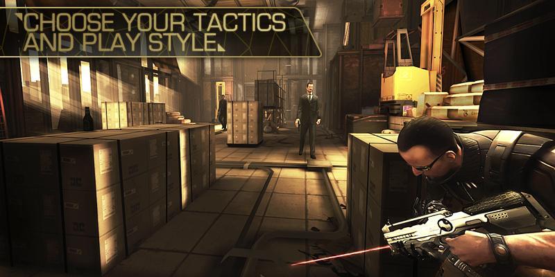 Deus Ex: The Fall screenshot #4