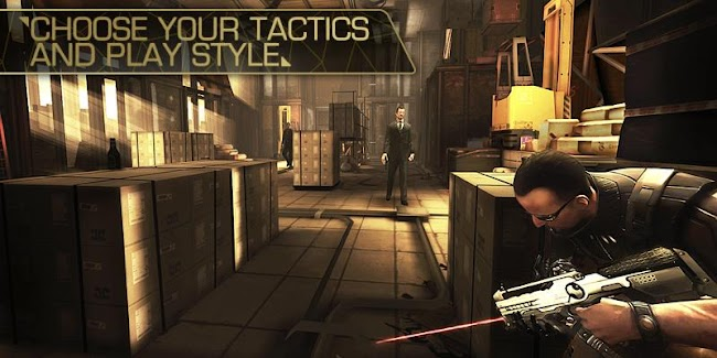 Deus Ex: The Fall Apk