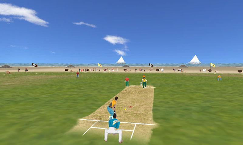 Beach Cricket Pro- screenshot