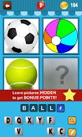 Screenshot of 4 Pics 1 Word Kids
