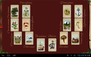 Screenshot of Tarot Madame Lenormand HD