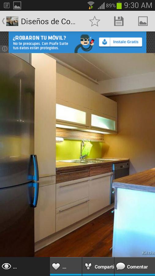 Dise os de cocinas android apps on google play - App diseno de interiores ...