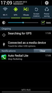Auto Redial Lite - screenshot thumbnail