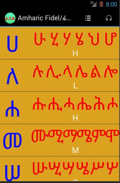 Amharic Typing