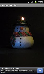 SnowMan Candle - screenshot thumbnail