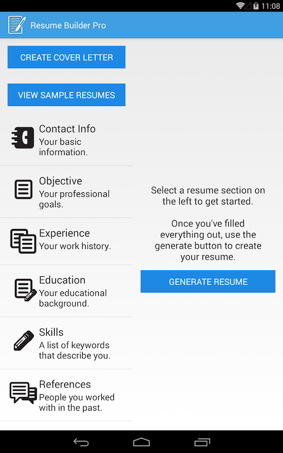 Resume Builder Pro - screenshot