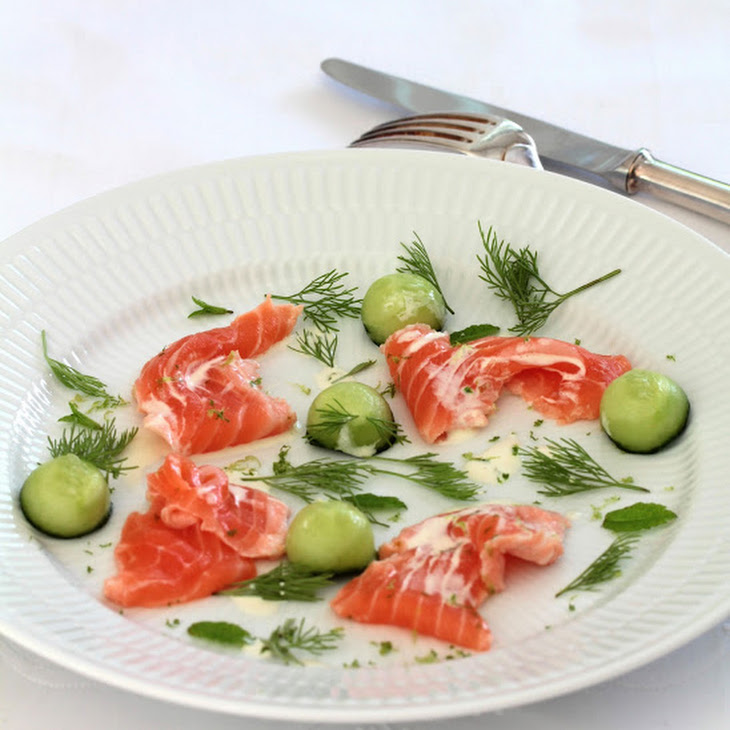 Marinated Salmon, Pickle Style Recipe
