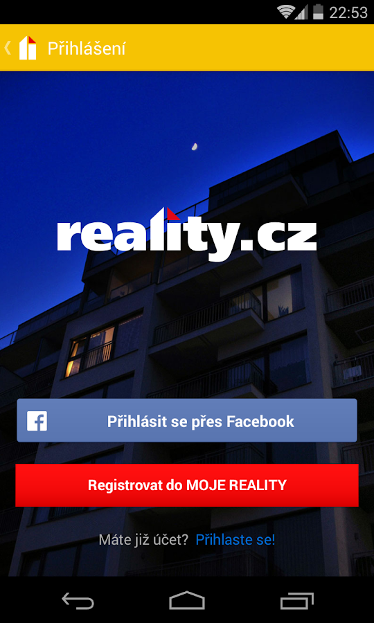 reality.cz - screenshot