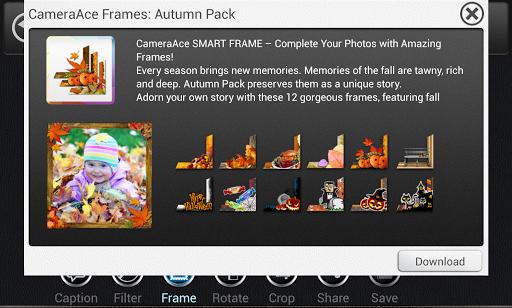 CameraAce Frames: Autumn Pack
