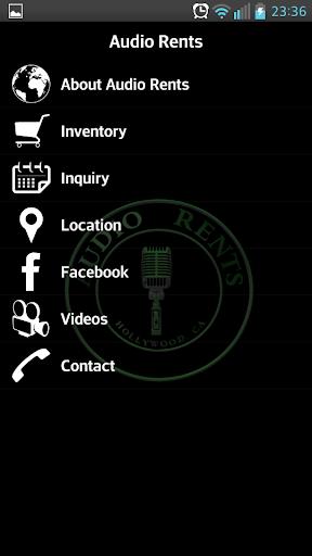 Audio Rents