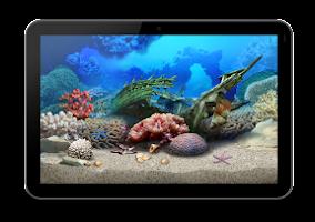 Screenshot of Aquarium HD for GoogleTV
