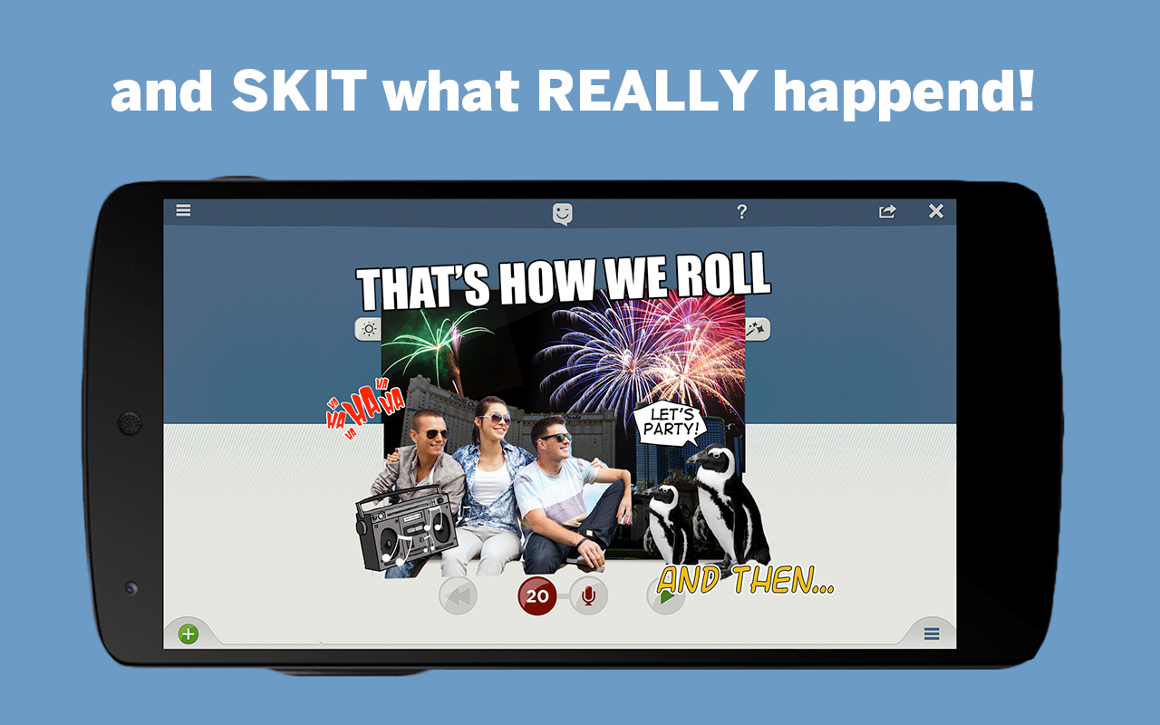 SKIT! Animated Video Maker - screenshot