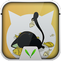 Cute Cat Live Locker Theme icon