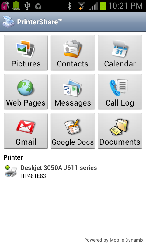 PrinterShare™ Mobile Print - screenshot
