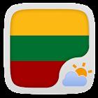 Lithuanian Language GO Weather icon