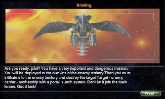 Screenshot of Star Fighter