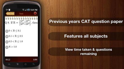 CAT Exam MBA - Pocket Exam