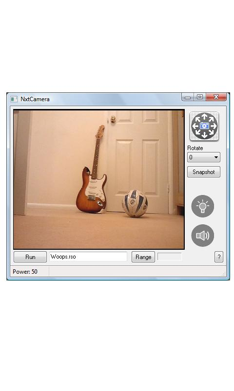 NXT Camera (LEGO MINDSTORMS) - screenshot