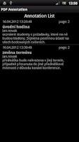 Screenshot of PDF Annotation