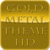 Gold Metal Theme HD