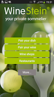 Screenshot of WineStein Smart Sommelier