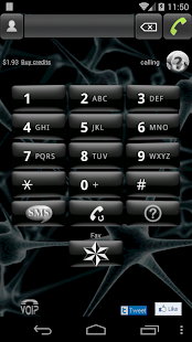 VOIP tablet: phone call & SMS - screenshot thumbnail