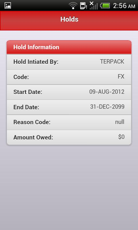 Mobile Edinboro- screenshot