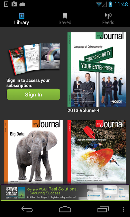 ISACA Journal- screenshot