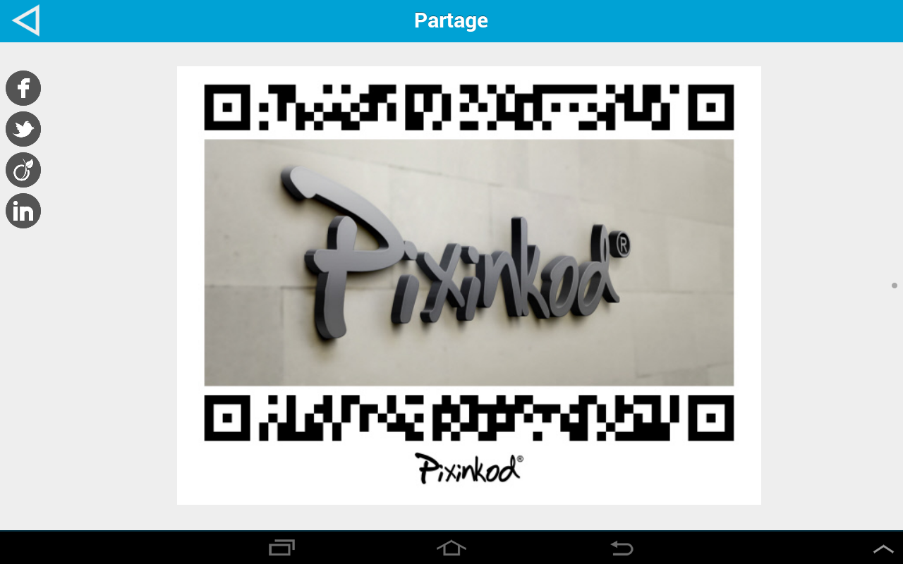 Pixinkod and QR Code Reader - screenshot