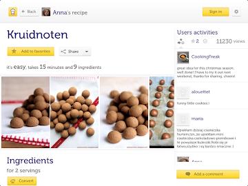 Cooklet for tablets Screenshot 6