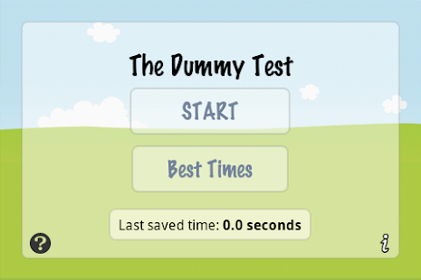 The Dummy Test- screenshot thumbnail