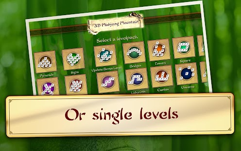 3D Mahjong Mountain- screenshot thumbnail