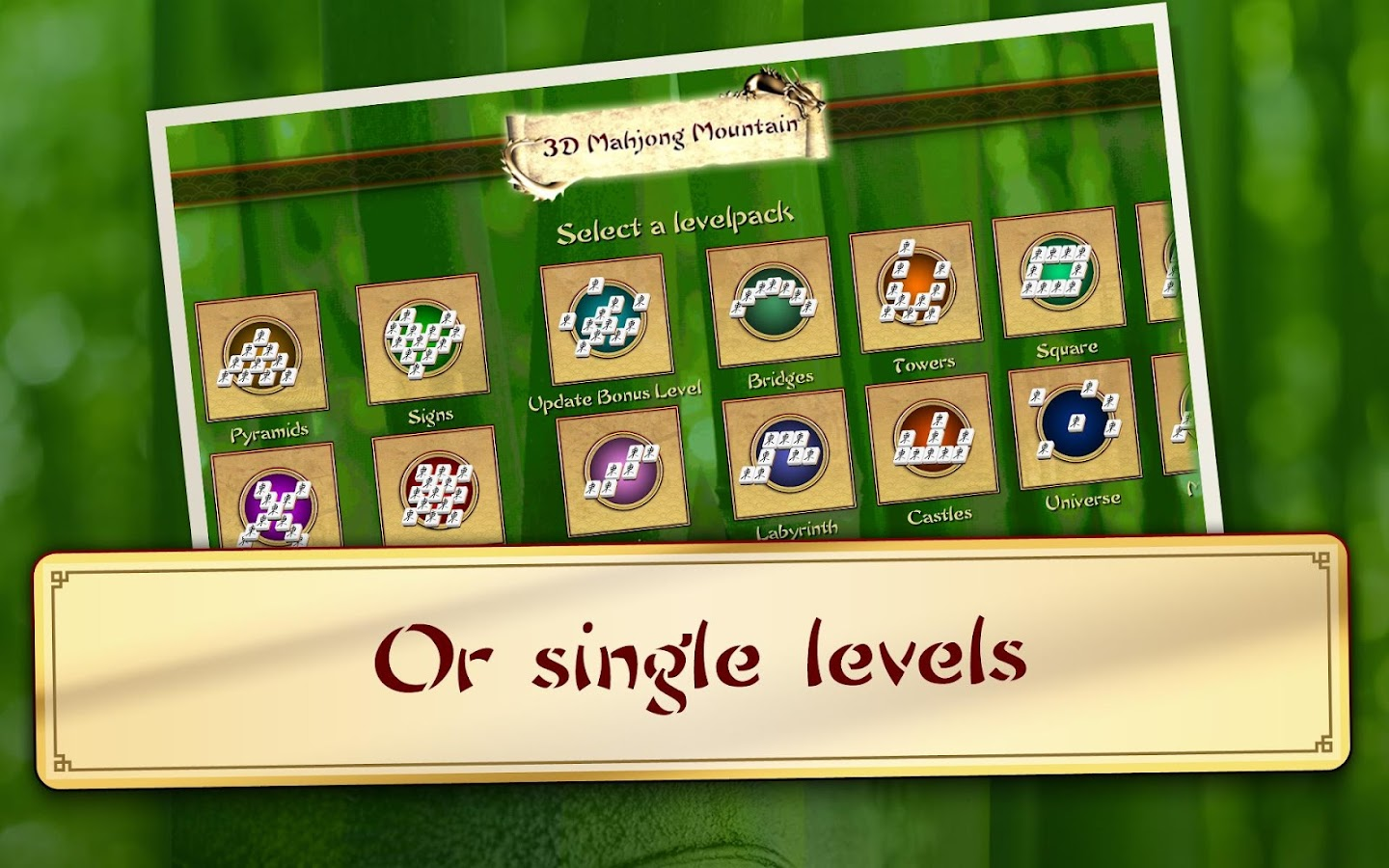 3D Mahjong Mountain - screenshot