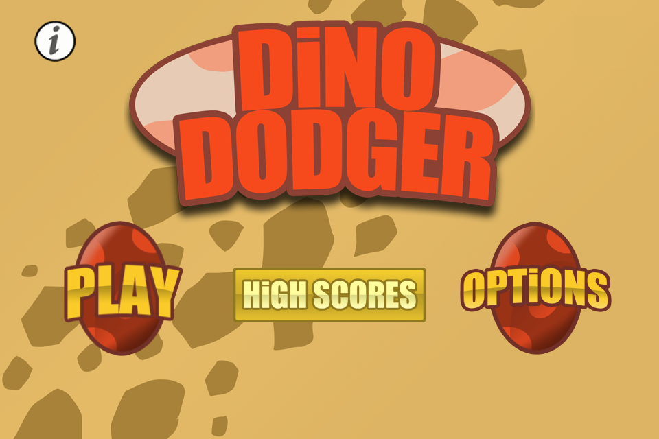 Dino Dodger- screenshot