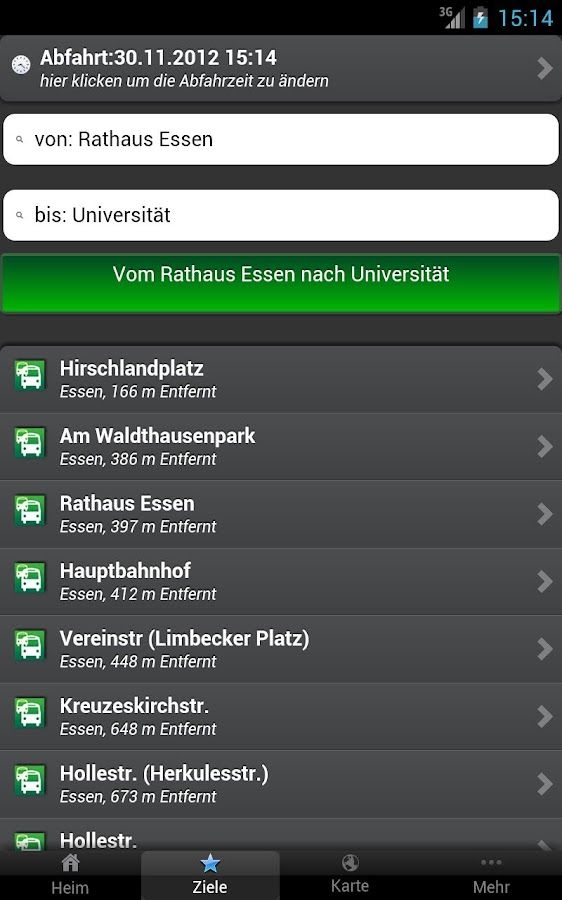 A+ Fahrplan Ruhrgebiet Premium - screenshot
