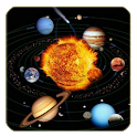 Solar system for kids icon