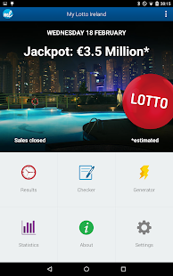 Irish Lottery (Lotto Ireland) - screenshot thumbnail