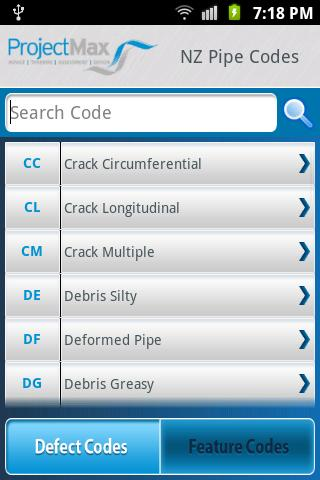 NZ Pipe Codes- screenshot