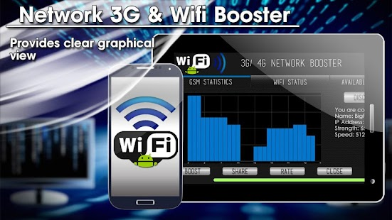 Android Network 3G WiFi Boost - screenshot thumbnail