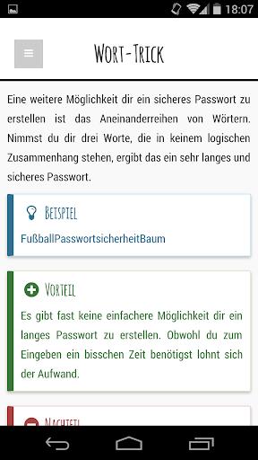 【免費教育App】Check Dein Passwort-APP點子