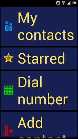 BIG Launcher Easy Phone DEMO 2.5.7 screenshot 446478