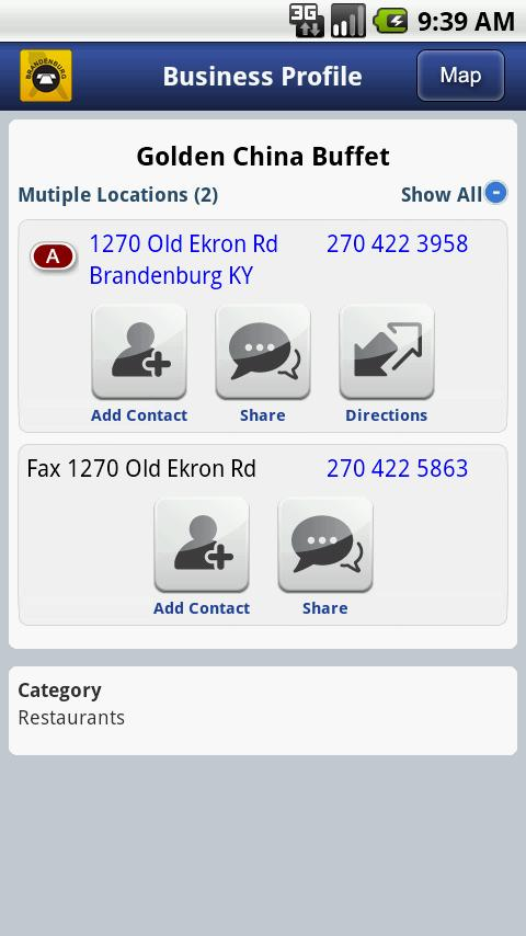 Brandenburg Telephone Book- screenshot