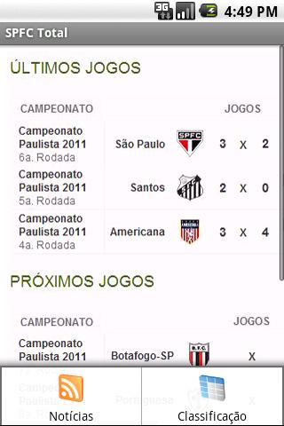 SPFC Total - screenshot