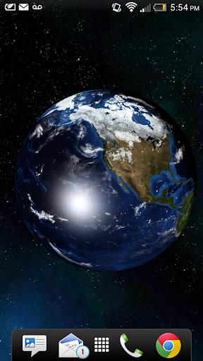 3D Earth Live Wallpaper Pro