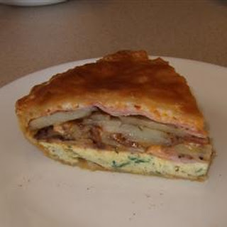 Egg, Ham and Cheese Pie Recipe