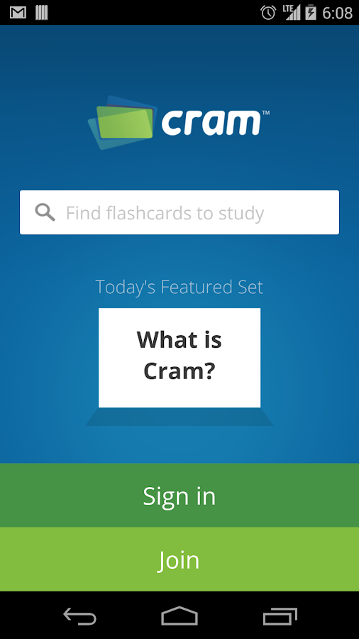 Cram.com Flashcards - screenshot