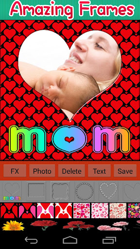 我愛媽媽相框 攝影 App-愛順發玩APP