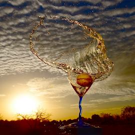 Splash Circle by Craig Luchin - Food & Drink Alcohol & Drinks ( lemonade, food & beverage, eat & drink, meal )