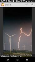 Screenshot of Lightning Camera
